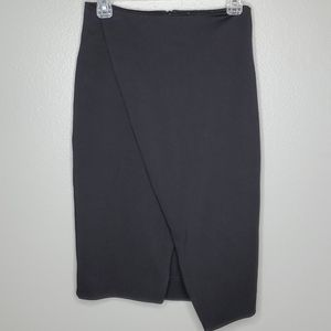Finders Keepers nwot faux wrap pencil skirt S
